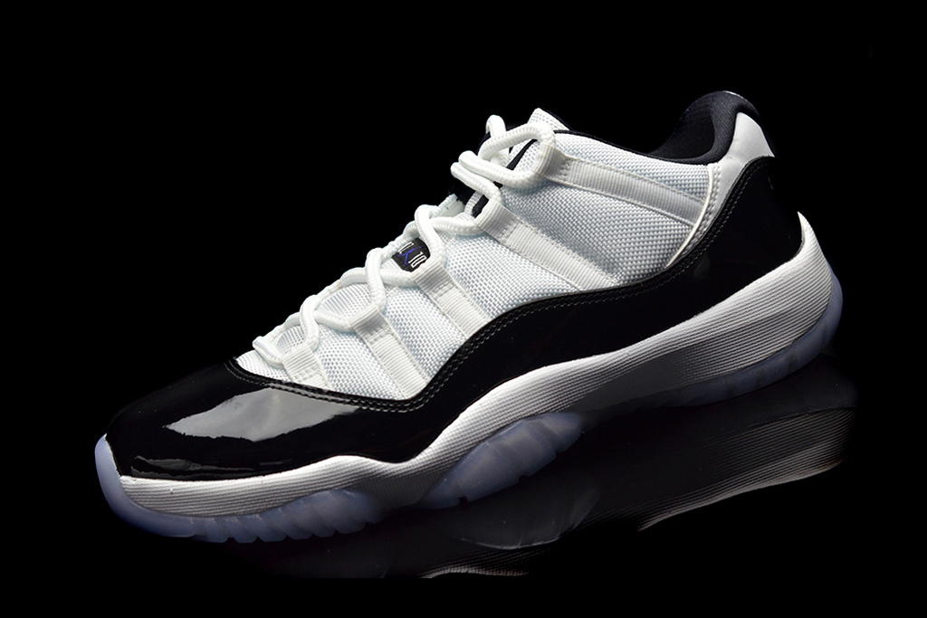 "Image of A First Look at the Air Jordan 11 Low ""Concord"""