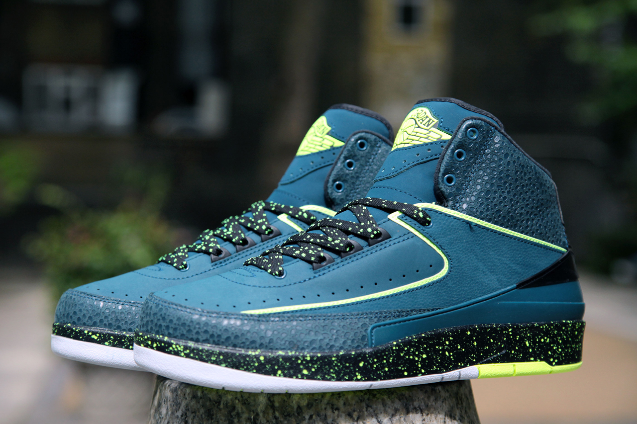 "Image of A First Look at the Air Jordan 2 Retro ""Nightshade"""