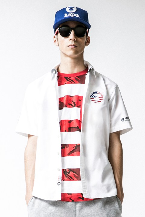 Image of AAPE by A Bathing Ape 2014 Summer Lookbook