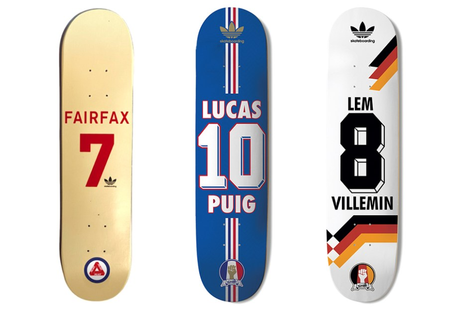 Image of adidas Skateboarding Presents The Skate Copa Deck Collection