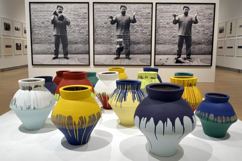 "Image of Ai Wei Wei ""According To What"" Exhibition @ Brooklyn Museum"