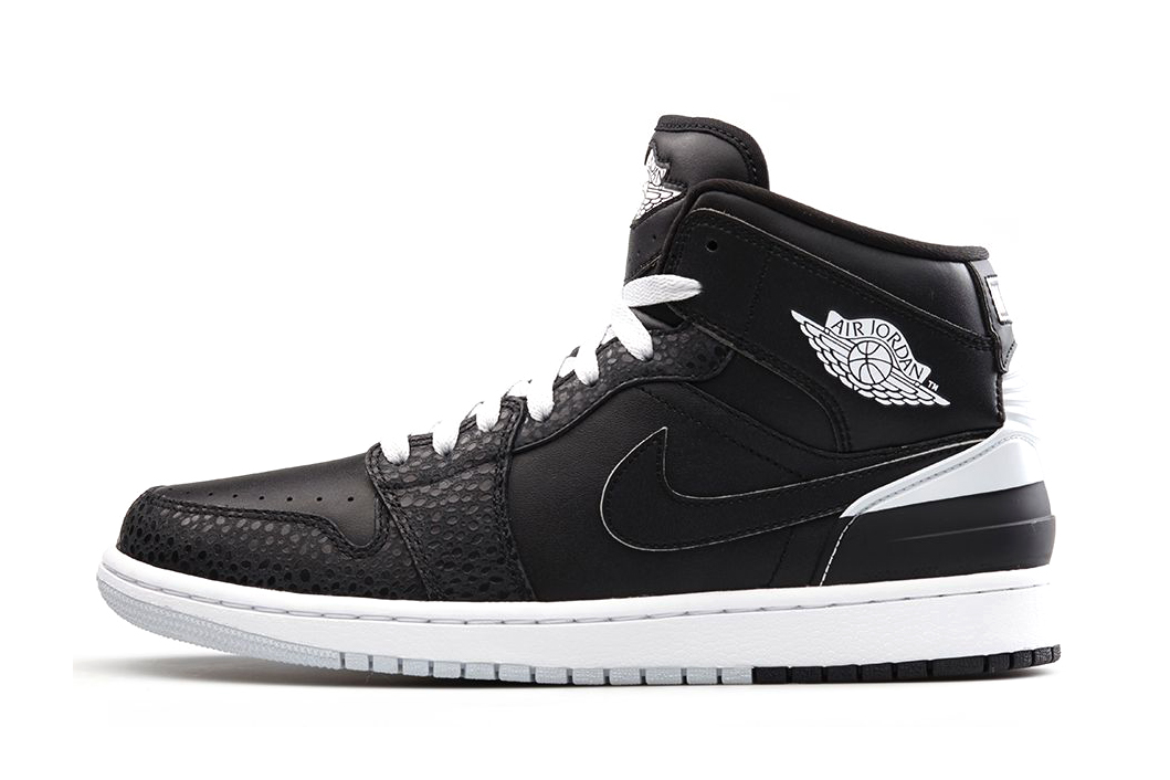Image of Air Jordan 1 Retro '86 Black/White-Pure Platinum
