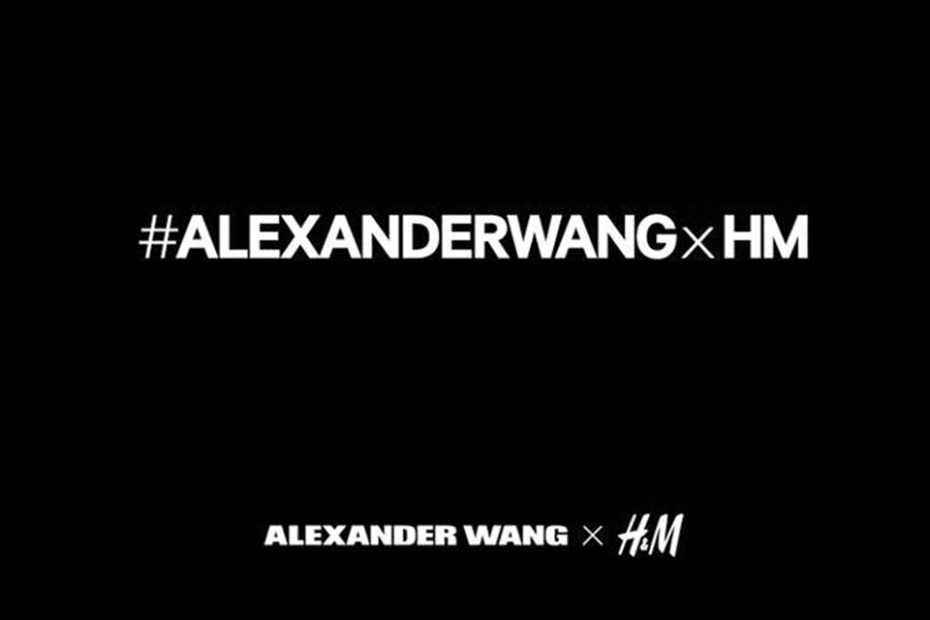 Image of Alexander Wang to Design a 2014 Fall/Winter Collection for H&M