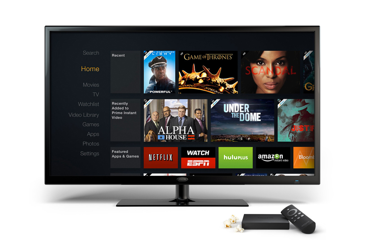 Image of Amazon Unveils Fire TV