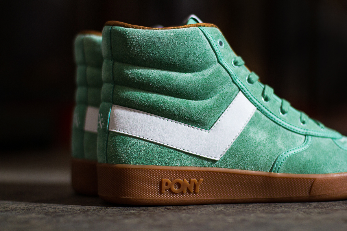 "Image of atmos x PONY Slam Dunk Hi ""New York State of Mind"""