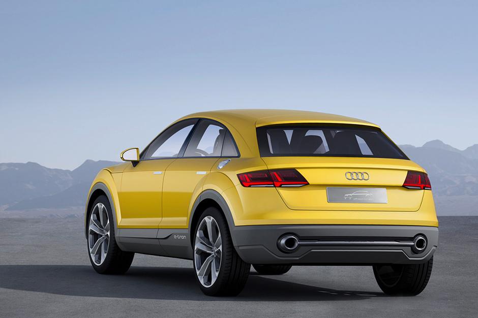 Image of Audi TT Offroad Concept