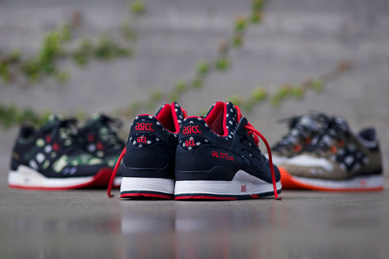 "Image of BAIT x ASICS Gel Lyte III ""Basics Model-003 Nippon Blues"" Preview"
