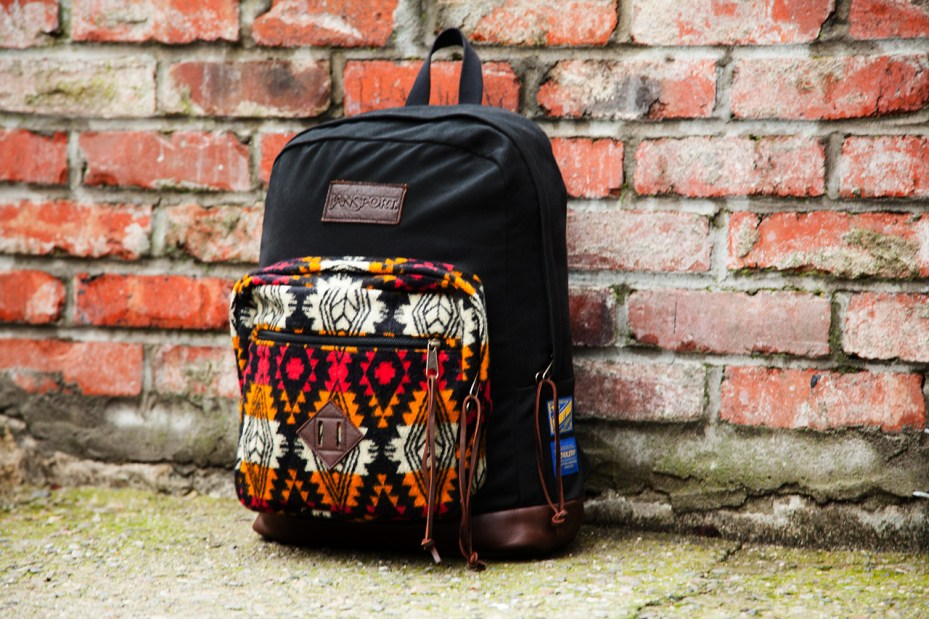Image of Benny Gold x Pendleton x JanSport Limited Edition Backpack