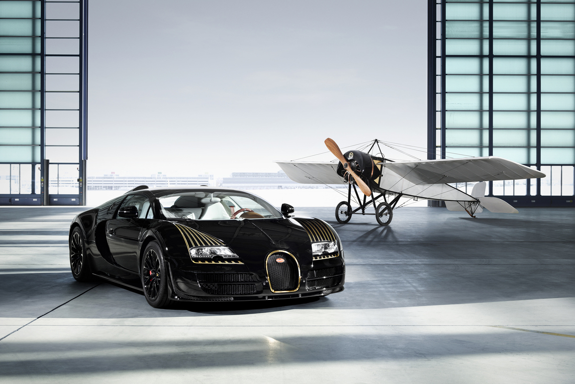 "Image of Bugatti Legends Veyron 16.4 Grand Sport Vitesse ""Black Bess"" Edition"