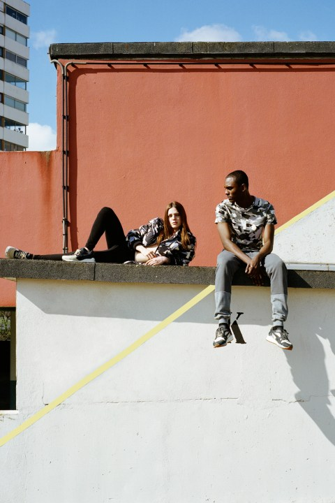 "Image of BWGH for PUMA ""Darkshadow"" Apparel Collection"