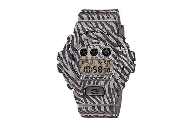 "Image of Casio G-Shock DW-6900ZB ""Zebra Camouflage"" Series"