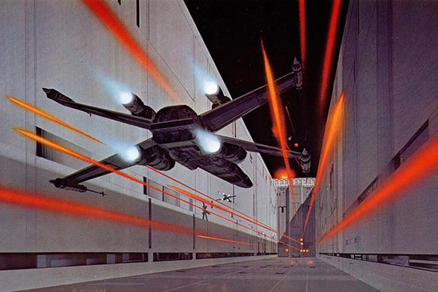 Image of Check Out This Original 'Star Wars' Concept Art by Ralph McQuarrie
