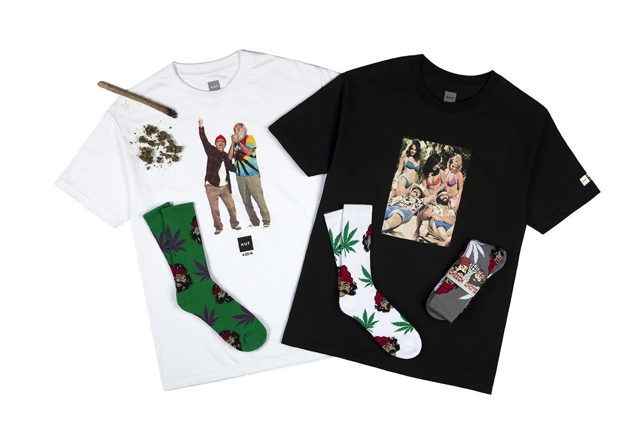 "Image of Cheech & Chong x HUF 2014 ""420"" Collection"