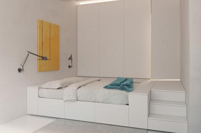 Image of Deformed Design Interior Space by Vlad Mishin