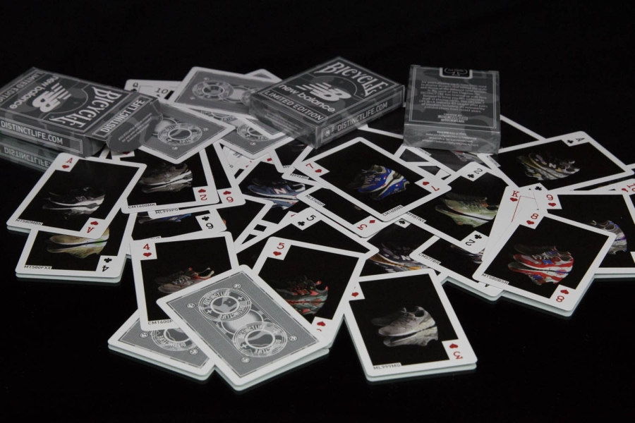 Image of Distinct Life x New Balance x Bicycle Playing Cards
