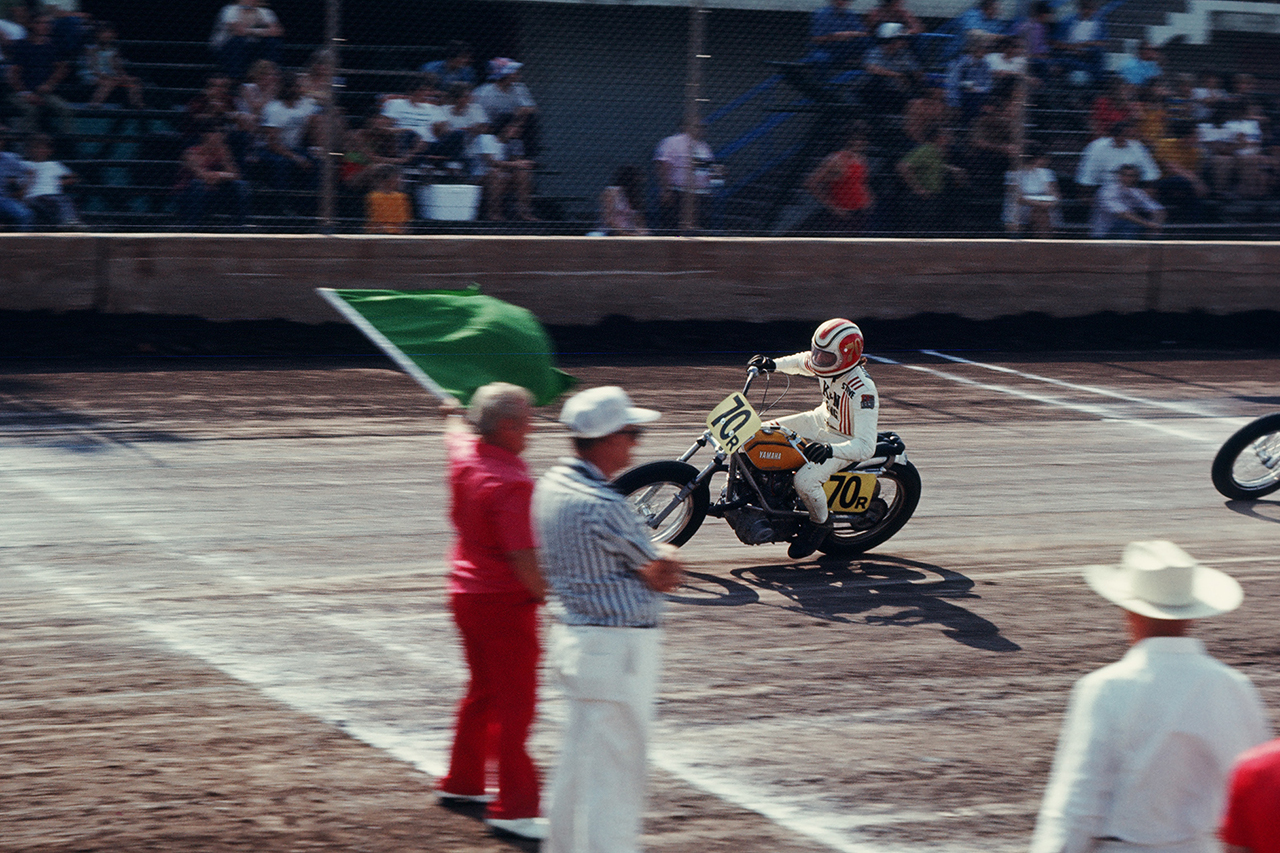 "Image of Unseen Evel Knievel Images from ""Evel Comes to Cooperville"" Book by Garrett Colton"