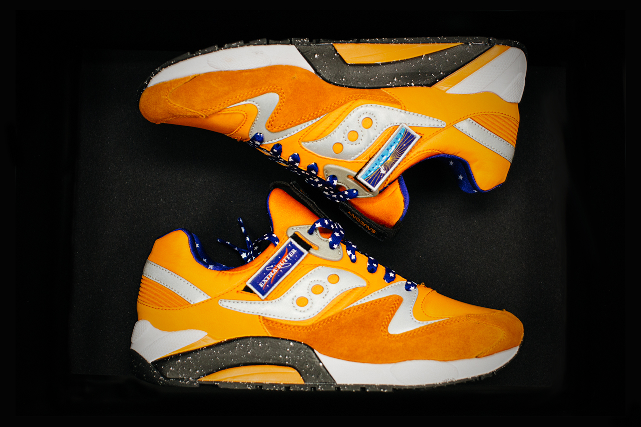 """Image of A First Look at the Extra Butter x Saucony Grid 9000 """"ACES"""""""
