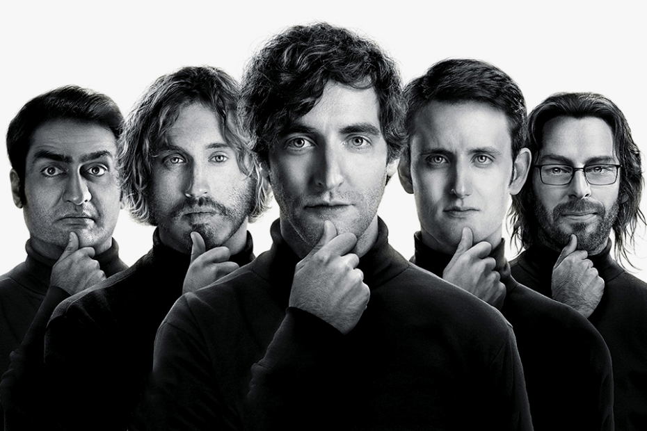 Image of Fake Startup Landing Page From HBO's 'Silicon Valley'