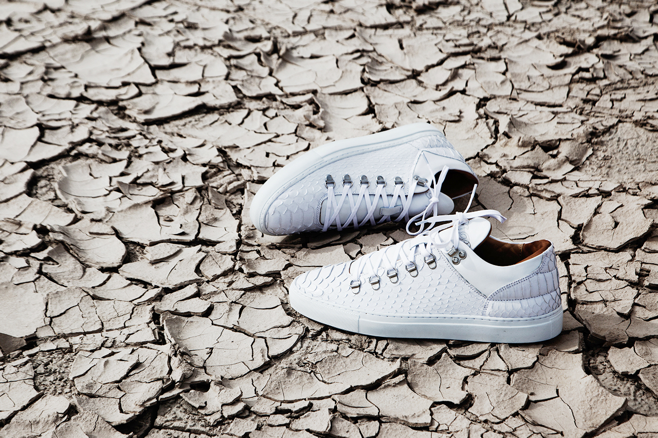 Image of Filling Pieces White Python Mountain Cut Sneaker