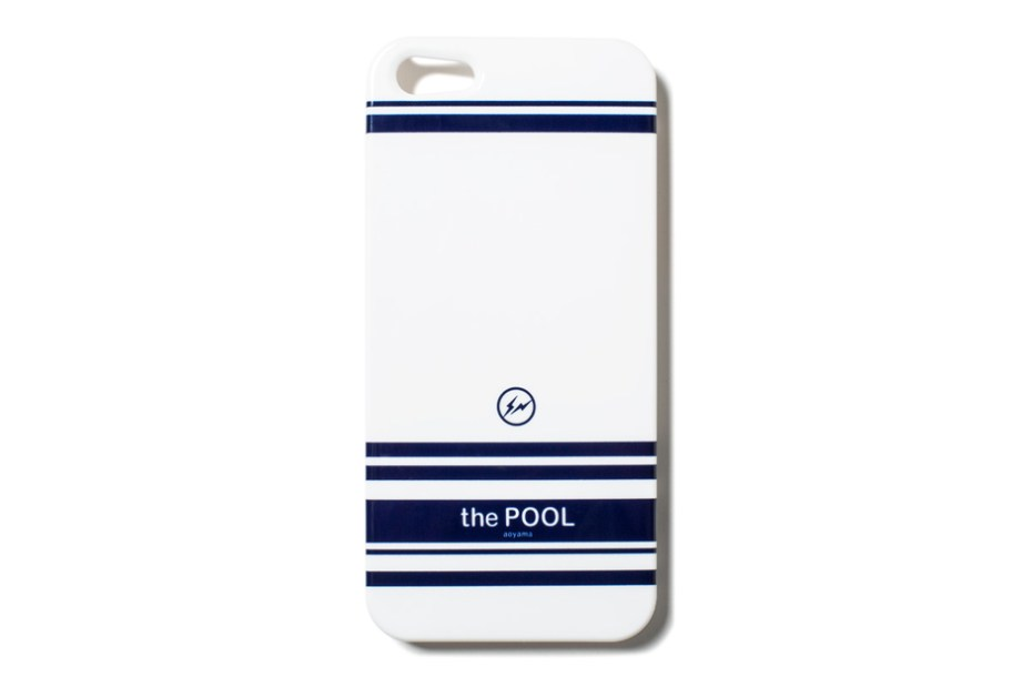 "Image of fragment design ""the POOL Aoyama"" iPhone Case"