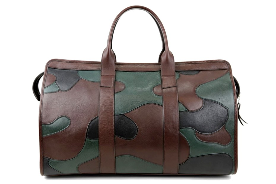 Image of Frank Clegg Camo Travel Duffle