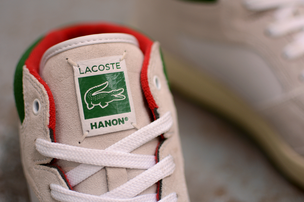 "Image of Hanon x Lacoste Wytham ""On Court/Off Court"" Pack"