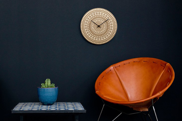 Image of House Industries x Heath Ceramics Clocks