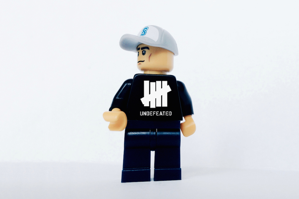Image of Iconic Streetwear Brands Imagined as LEGOs