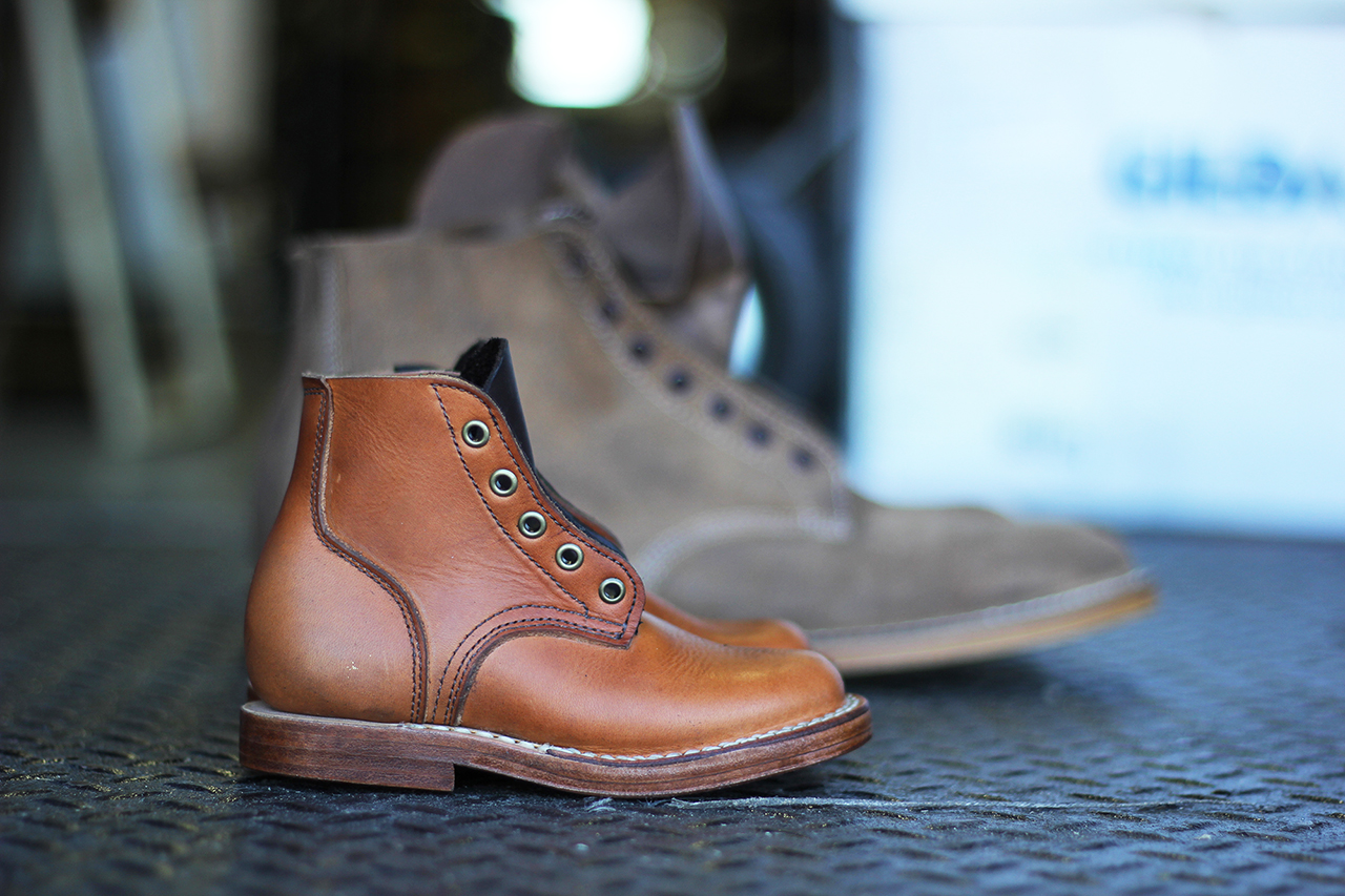 Image of Viberg Create a Rare Infant-Sized Version of Their Infantry Boot