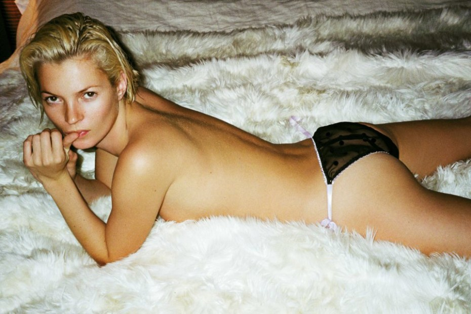 Image of Kate Moss by Mario Testino Book