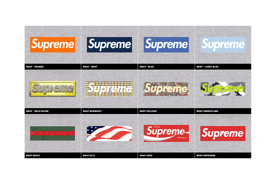 Image of Kopbox Celebrates 20 Years of the Supreme Box Logo