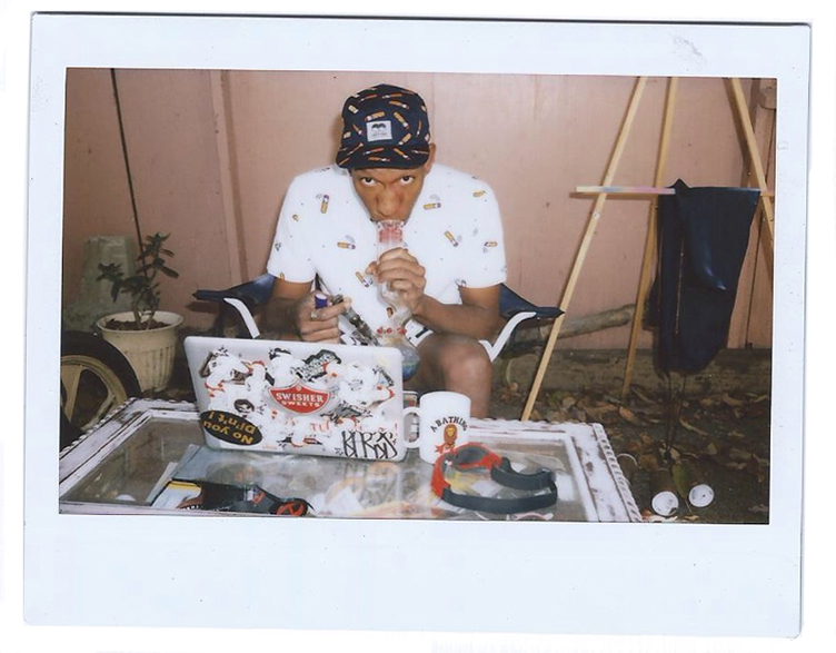 Image of Lazy Oaf 2014 Spring/Summer Editorial featuring Hodgy Beats and Left Brain
