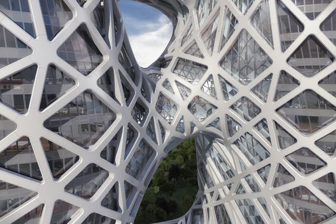 Image of Macau's City of Dreams Hotel by Zaha Hadid