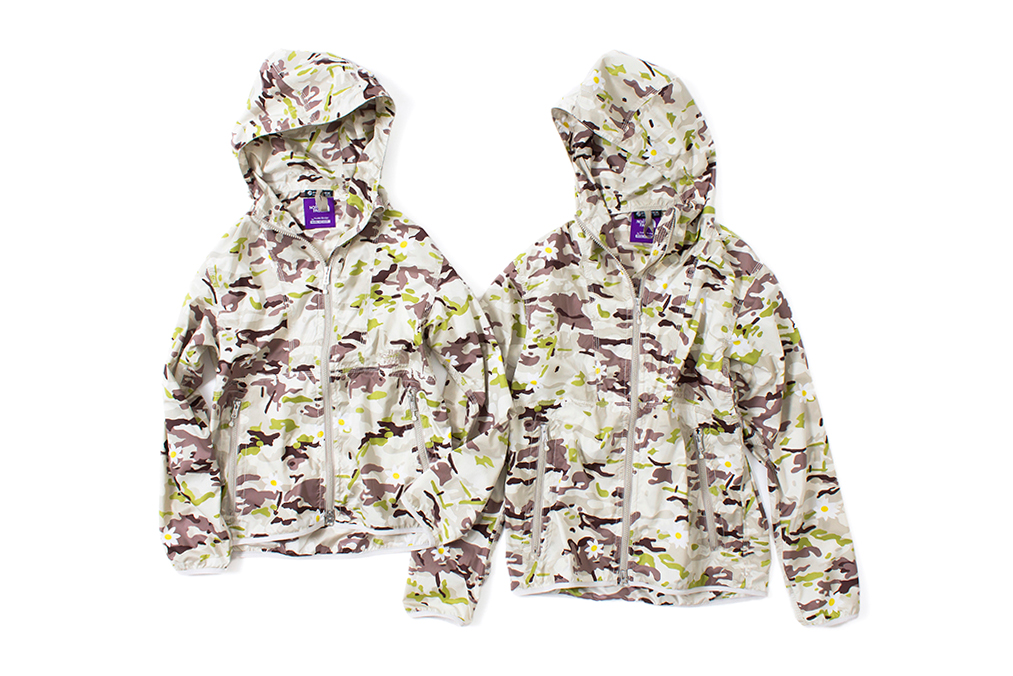 "Image of Mark McNairy x THE NORTH FACE PURPLE LABEL 2014 Spring/Summer ""Daisy Camouflage"" Collection"
