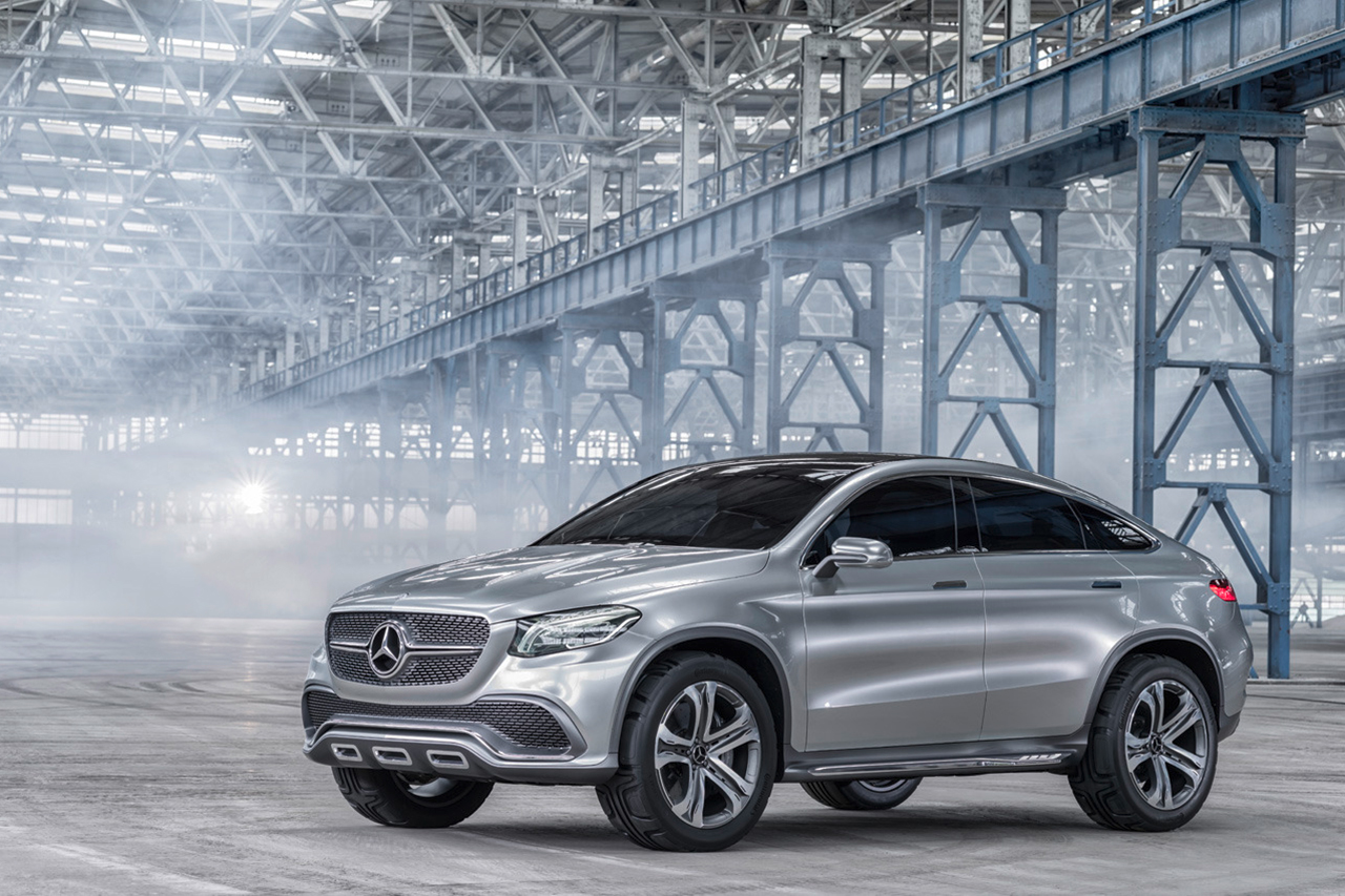 Image of Mercedes-Benz Concept Coupe SUV