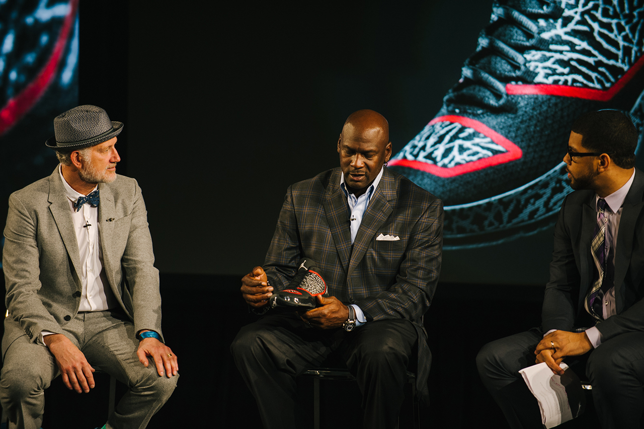 Image of Michael Jordan on the Next Generation of the Jordan Brand