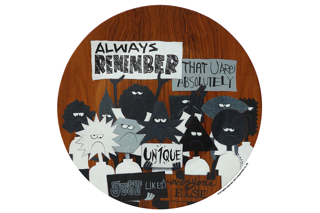 "Image of Michael Lau Exhibition IV ""remember-disc · time-table"" @ Michael Lau Pop-up Gallery"