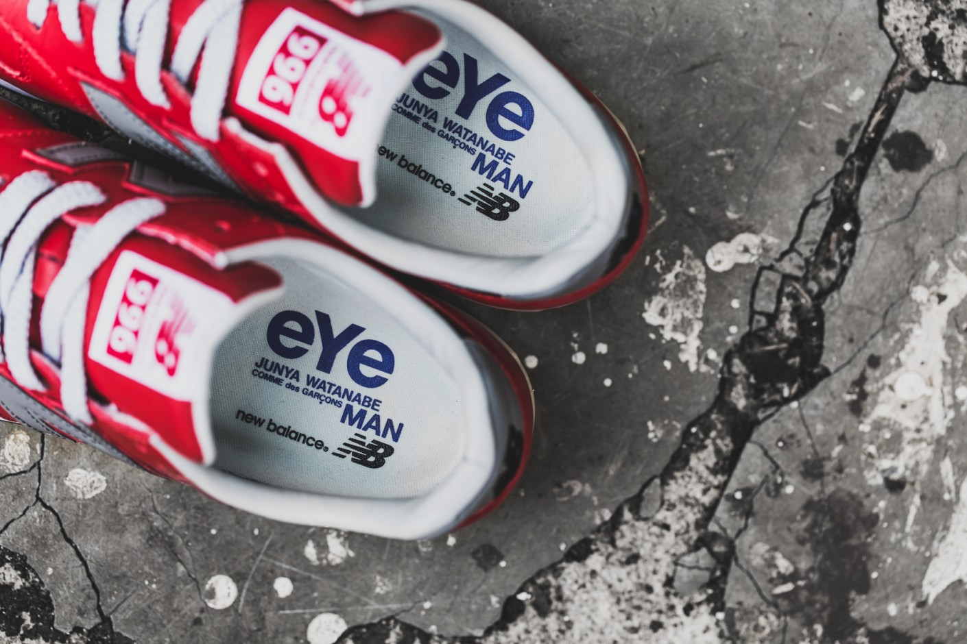 Image of A Closer Look at the eYe COMME des GARÇONS Junya Watanabe Man x New Balance MRL996