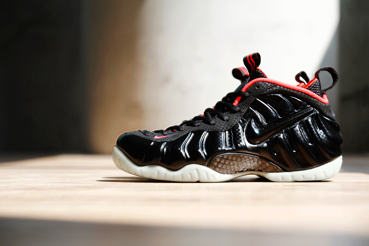"Image of Nike Air Foamposite Pro PRM ""Solar Red"""