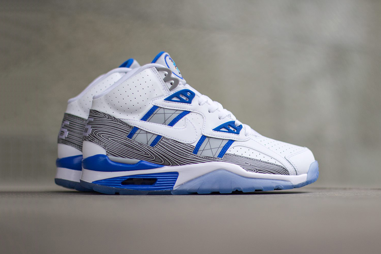 "Image of Nike Air Trainer SC High Premium QS ""Broken Bats"""