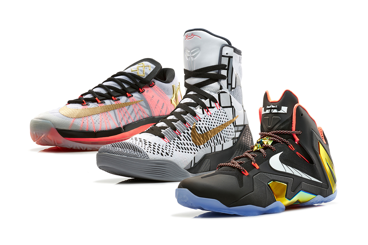 "Image of Nike Basketball 2014 Elite Series ""Gold"" Collection"