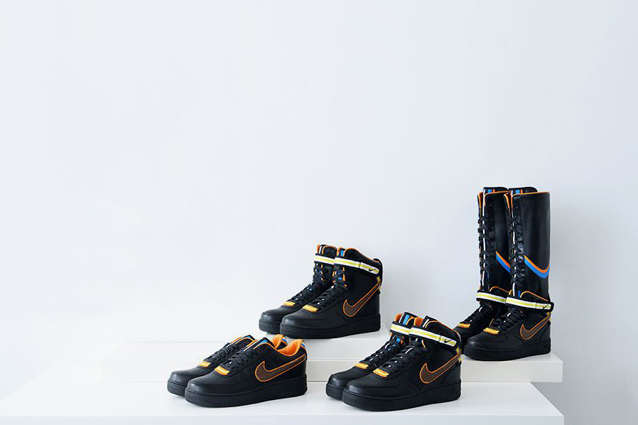 Image of Nike + R.T. Air Force 1 Black Collection