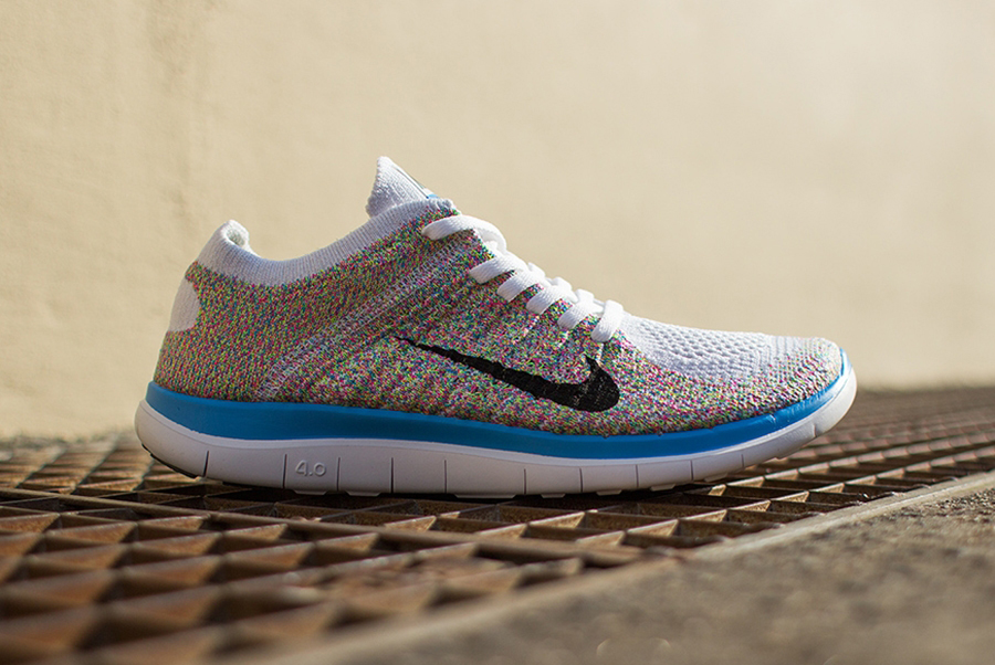"Image of Nike Womens Free 4.0 Flyknit ""Multi-Color"""