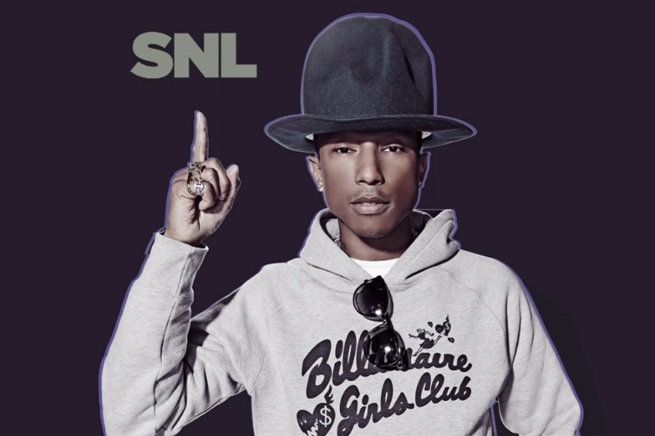 Image of Pharrell's SNL Performance featuring Hans Zimmer