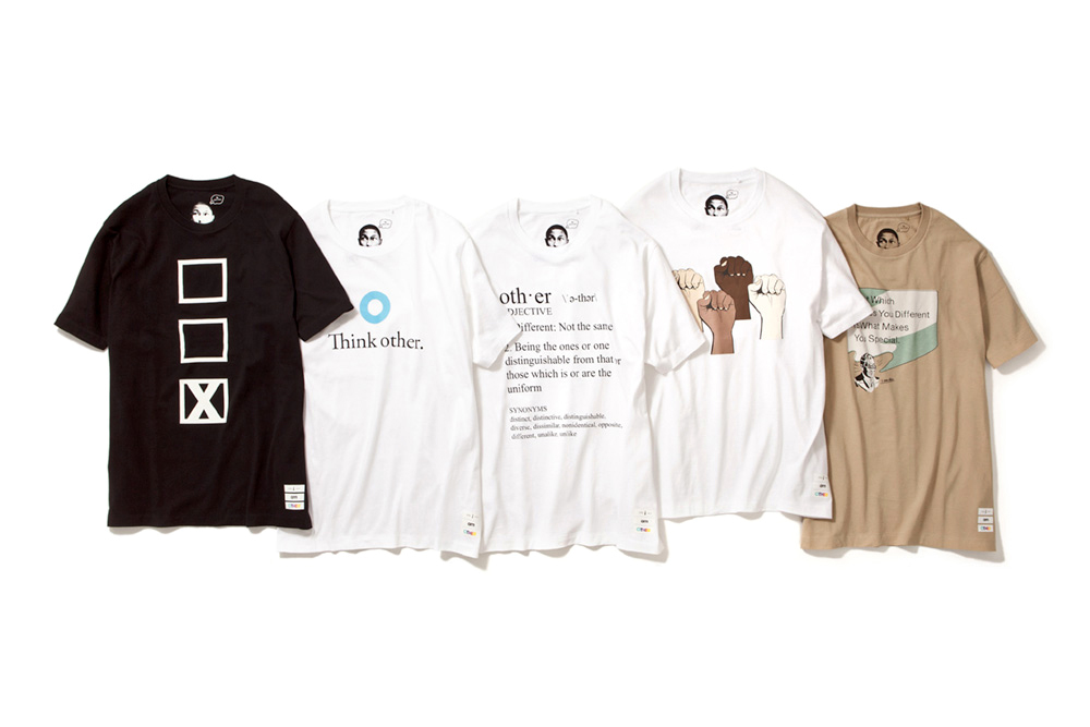 "Image of Pharrell Williams x Uniqlo UT 2014 Spring/Summer ""i am OTHER"" Collection"