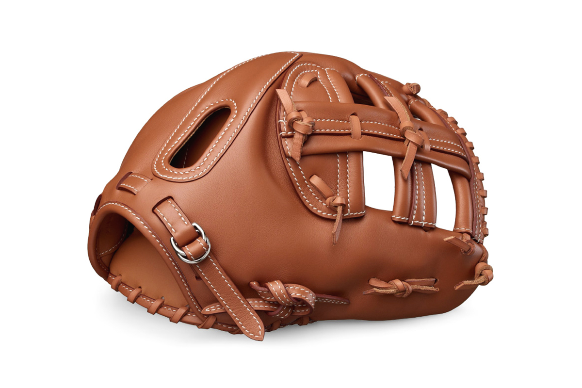 Image of Play the Field with a $14,100 USD Hermès Baseball Glove