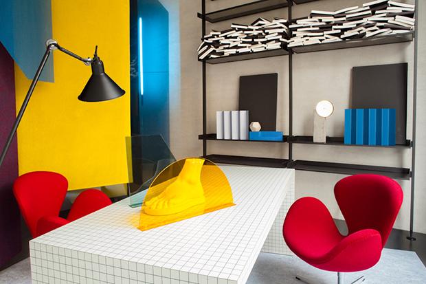 Image of Raf Simons x Kvadrat 2014 Spring/Summer Textile Collection