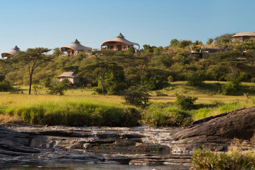 Image of Richard Branson Opens Mahali Mzuri Safari Camp in Kenya