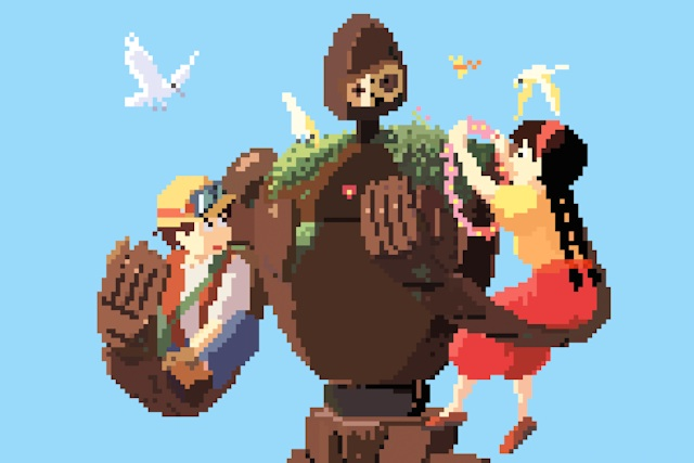 Image of Richard J. Evans Reimagines the Studio Ghibli Universe in 8-Bit
