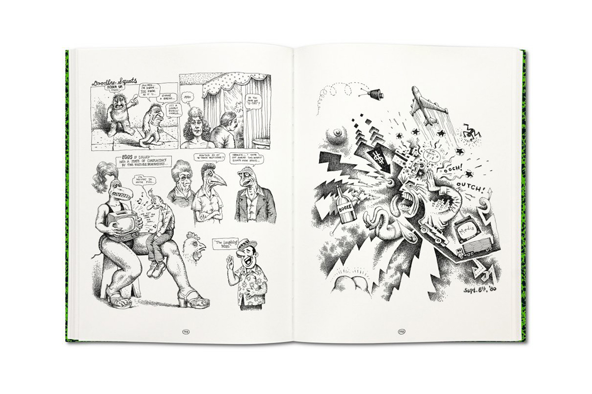 Image of A Look Into the Work of a Legend with Robert Crumb's Sketchbooks 1964–1982